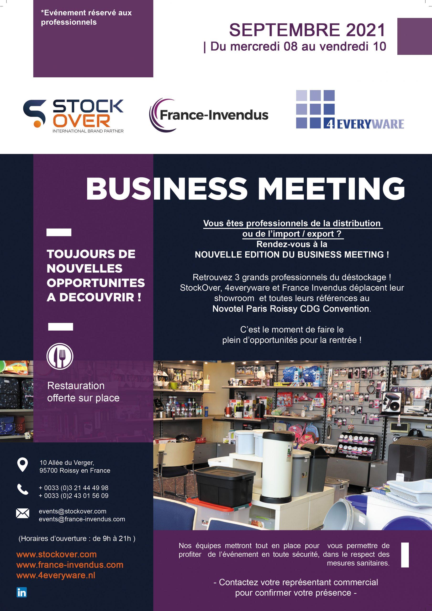 BUSINESS MEETING Paris